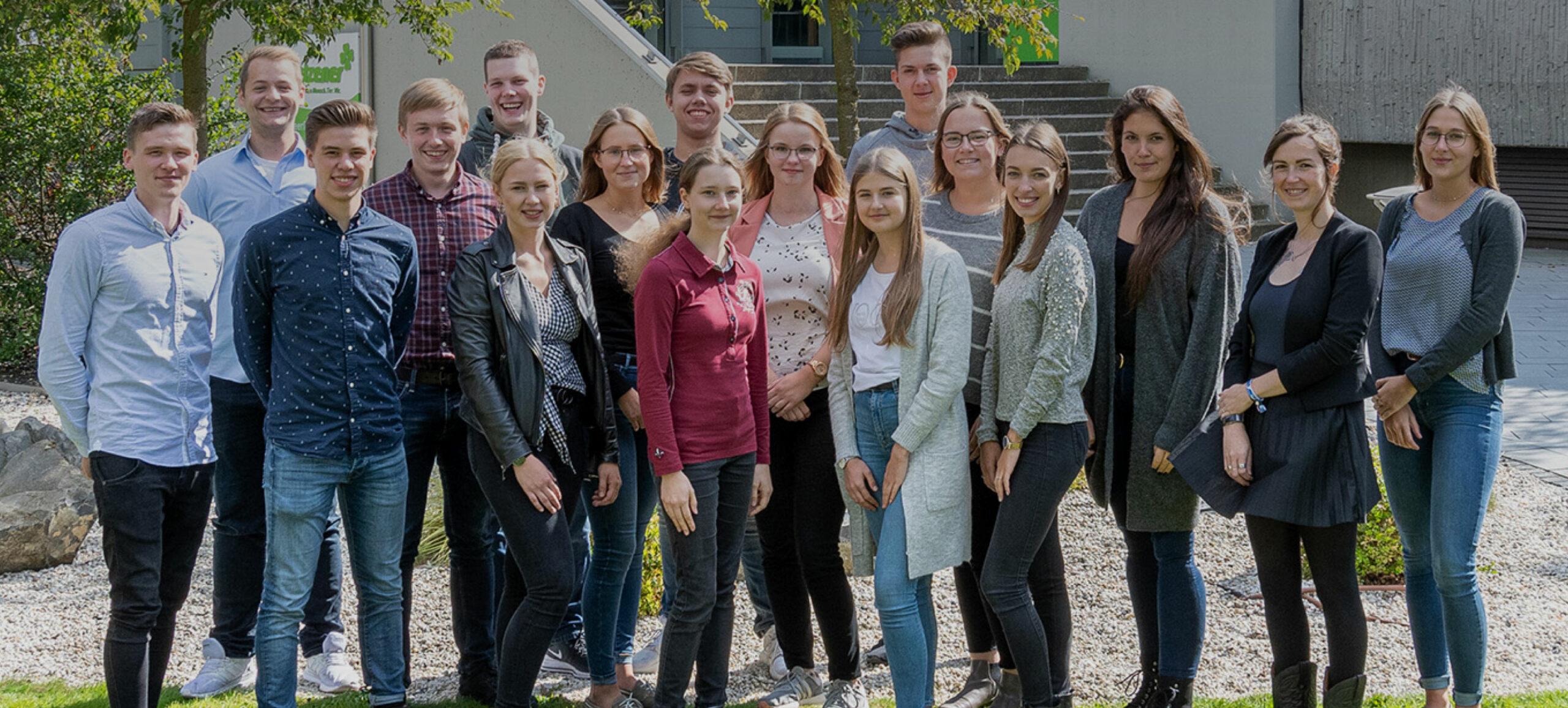 Gruppenfoto Schüler